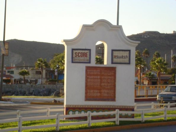 Score International and BFG Plaques in Ensenada