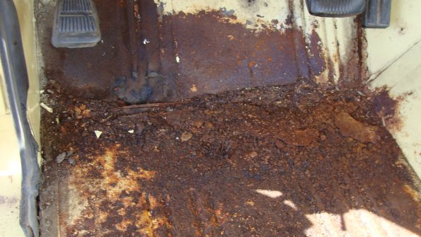 Floor Board Rust