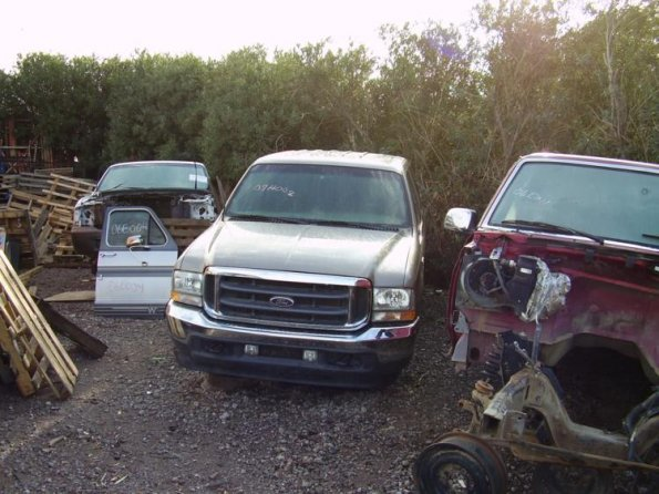 Ford salvage pickups